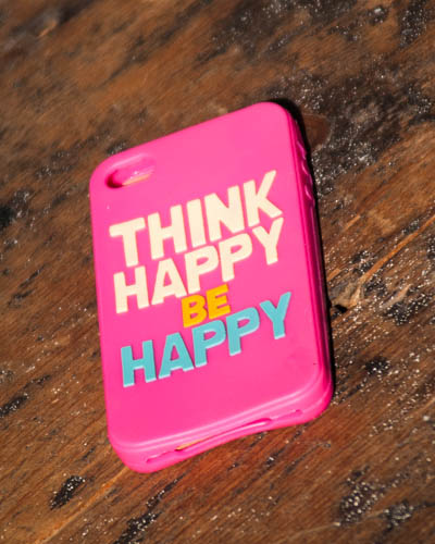 Think Happy <br /> IPhone Case